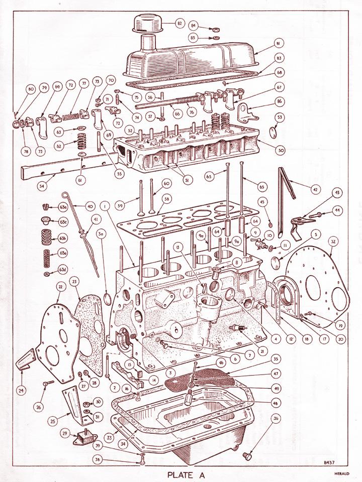 engine   canley classics Car Engine Diagram Car Engine Diagram
